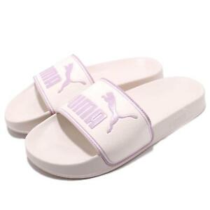 ccf6e2239ef Puma Leadcat Whisper White Orchid Men Women Sports Sandals Slides ...