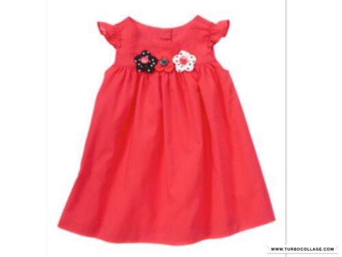 NEW GYMBOREE HAPPY PANDA GIRLS FLUTTER SLEEVE  DRESS 18-24 MONTHS