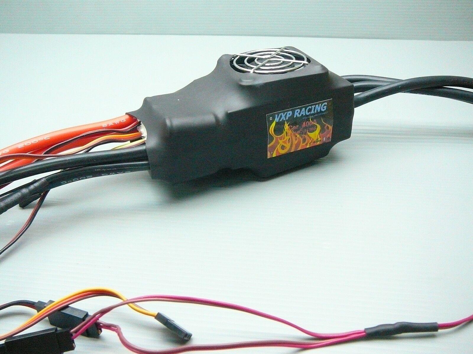 Vxp Racing alta tensión de alimentación 400a CES 3-16s Lipo Hpi Baja Fg Flux 1 5 1 7 coche