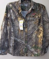 Under Armour Women's M Camo Button Shirt Blouse Realtree Performance All Season