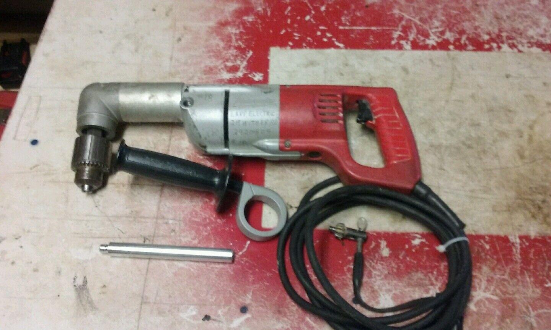 Heavy Duty Milwaukee 1 2  Right Angle Drill,   1001-1