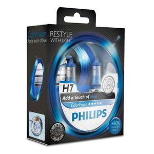 glühlampe philips h7 (12v 55w) colorvision blue 2 stück | ebay