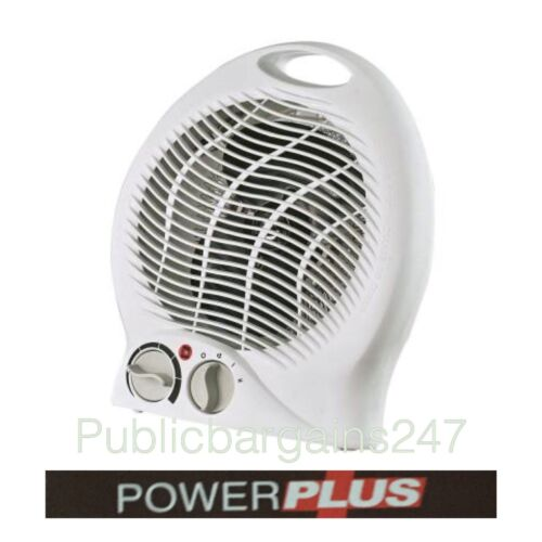2000W ELECTRIC PORTABLE FAN HEATER WARM//COOL//WIND THERMOSTAT SILENT 2 HEAT NEW
