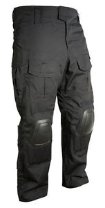 Shell British Knees Black New Special Armour Ops hard Combat Tactical Trousers U16qgxwd