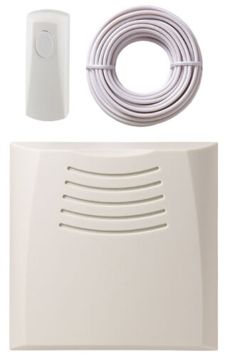 Friedland DC859 Newlec Wired Door Bell CHIME KIT Battery Operated 5m Range DC860