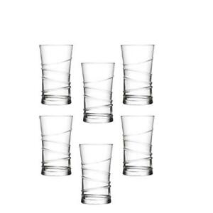 6x-RING-Mojito-COCKTAIL-BEER-drinking-glasses-HIGHBALL-Glasses-RRP-17-99