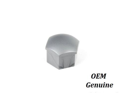 Audi TT A3 A4 A6 A8 Wheel Bolt Nut Plastic Cap Cover Grey Black 17mm GENUINE OEM