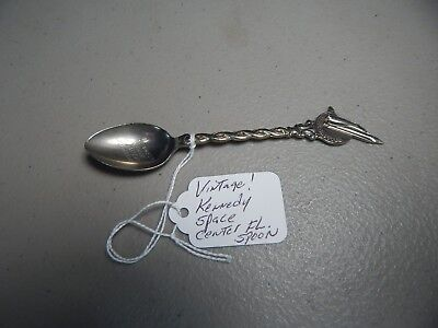 "Historical Memorabilia 2019 Fashion Vintage "" Kennedy Space Center Florida "" Collectible/souvenir Spoon Fine Craftsmanship"