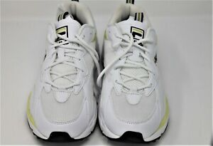 Neuf-Fila-RAY-TRACER-Baskets-a-Semelle-Compensee-Baskets-Chaussures-Jaune-Taille-UK-6-EUR-39-5