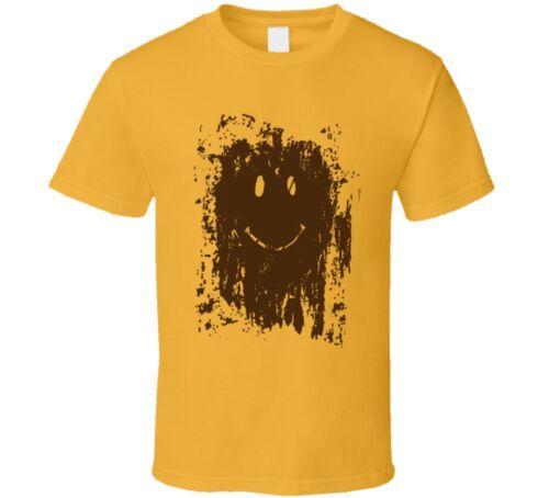 Muddy Smiley Forrest Gump Movie Replica T Shirt