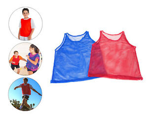 5db3c47a4 Image is loading YOUTH-Practice-Team-Jerseys-Pinnies-Mesh-Scrimmage-Training -