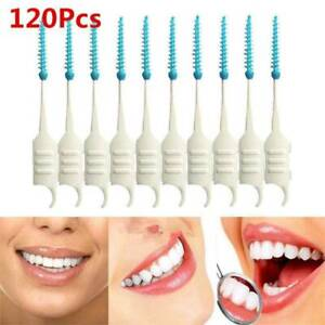 120-Pcs-Interdental-Brush-Dental-Floss-Teeth-Oral-Clean-Double-Head-Tooth-Pick