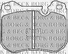BORG /& BECK BBP1030 Lot de plaquettes de frein Porsche F