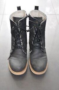 Anna Field Stiefel Boots Stiefelette gefüttert schwarz dunkelgrau Gr. 39 Biker - Mannheim, Deutschland - Anna Field Stiefel Boots Stiefelette gefüttert schwarz dunkelgrau Gr. 39 Biker - Mannheim, Deutschland