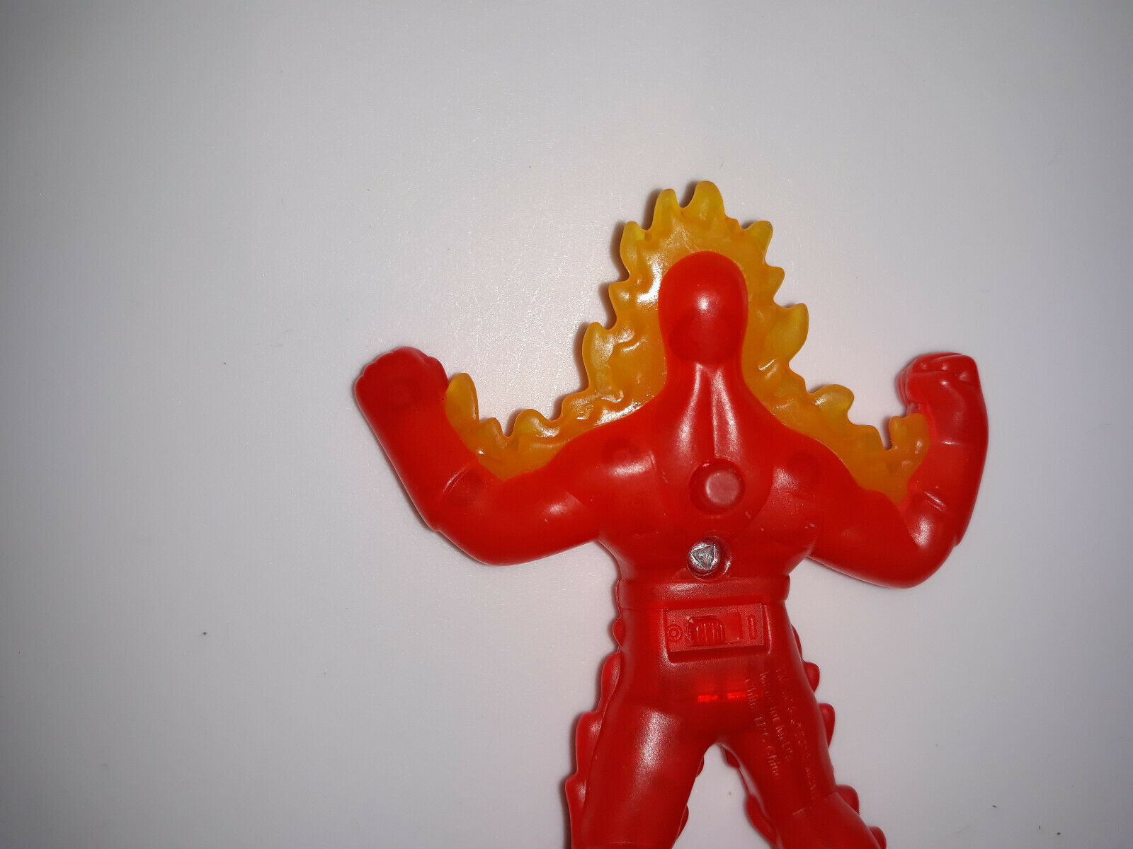 Rare Human Torch    Figure Marvel Fantastic Four 4.5  Non Working A100 388c9a