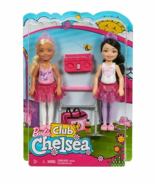 Barbie Club Chelsea Ballet Dolls Fhk96 Fhk98 For Sale Online Ebay