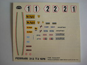 F1-DECALS-KIT-FERRARI-312-T2-GP-SPAGNA-76-LAUDA-N-1-2-DECALS