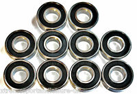 10 Pack 688 2rs 8x16x5mm High Performance Sealed Bearings