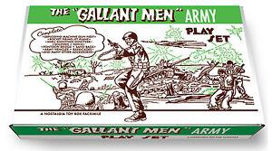 Marx Gallant Men Army Play Set Box