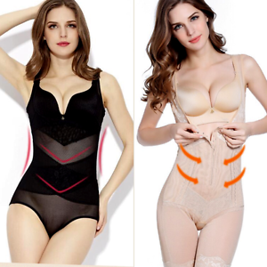 c26b37fa55 Details about Ladies Plus Size Hold In Pull Me In Pants Underbust Firm  Control Shaper Bodysuit