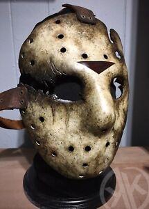 Handmade Friday The 13th Jason Goes To Hell Hockey Mask ...