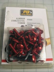 Pro Bolt FYA284R Aluminum Fairing Kit RED for Yamaha YZF R6 2008-19 NEW