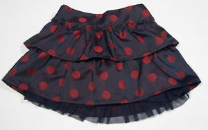 Girls' Clothing (newborn-5t) Nwt Baby Gap Polka Dot Skirt With Tulle Toddler 2t 2 Mount Snow Holiday Line