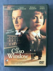 DVD-EL-CASO-WINSLOW-Nigel-Hawthorne-Rebecca-Pidgeon-Jeremy-Northam-DAVID-MAMET