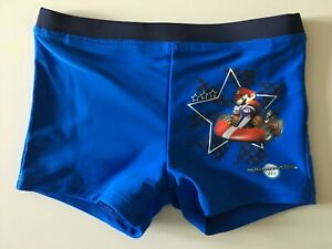 4b0ec6f85316d Image is loading Boys-Nintendo-Super-Mario-Swimming-Trunks-Shorts-Pants-