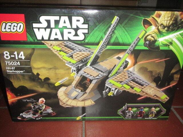 LEGO STAR WARS 75024 HH 87 STARHOPPER New  3 minifigures Obi Wan Cad Crane Nikto
