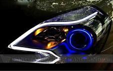 2 XFlexible Audi Style Neon Tube  60cm DRL LIGHT FOR CARS / BIKES - WHITE
