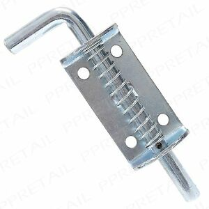 Galvanised 6 Quot Spring Loaded Bolt Heavy Duty Drop Stable