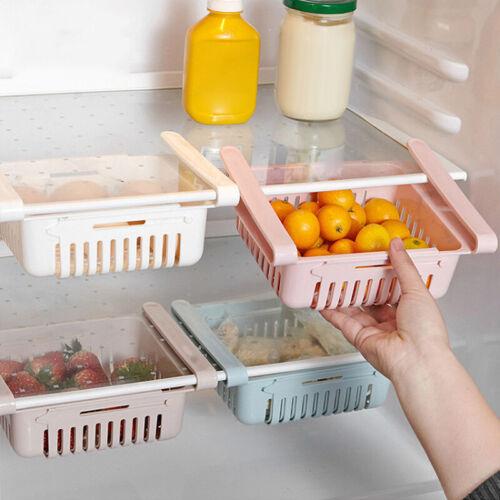 Drawer Type Refrigerator Container Box Food Basket Fridge Storage Bins YU