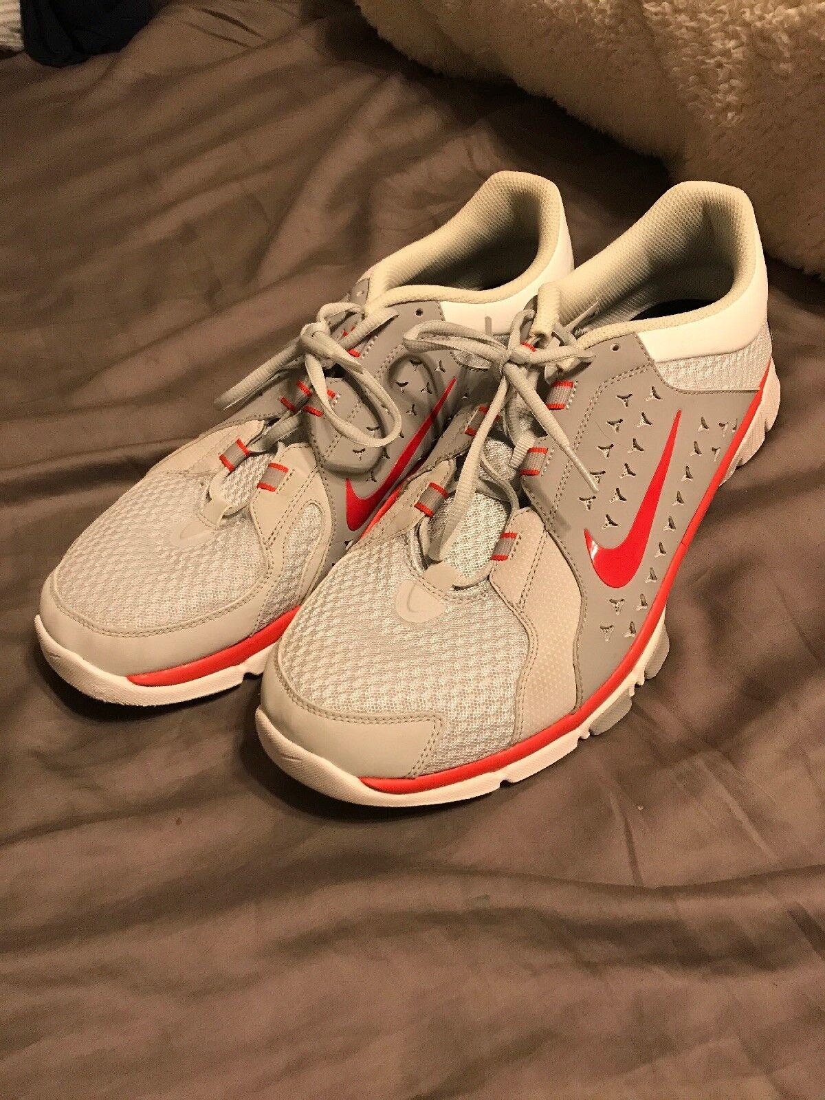 c952b65194d559 Mens nike flex supremo tr dimensioni dimensioni dimensioni 13 scarpe da  corsa 525730-003 grigio rosso ...