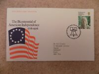 First Day Cover Bicentennial of American Independence 1976 Edinburgh Postmark