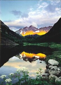 Details about 10 Original Photographic Art Note Cards With Envelopes Maroon  Bells Colorado