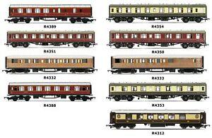 Enthousiaste Hornby Oo Gauge Coach Range Of Models Excellente Qualité