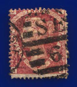 1870-SG51-1-d-Rose-Red-Plate-3-G6-1-TJ-Misperf-London-Good-Used-Cat-75-cvxv