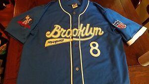 0b04ab50 Image is loading Headgear-Official-Negro-League-Baseball-Jersey-Brooklyn- Royal-