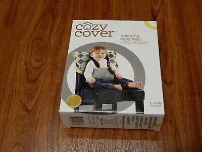 Praktisch Neu Cozy Cover Tragbar Easy Seat 6 + Mo Bis Zu 35 Lb Dunkelgrau Gelb Einfach Zu Verwenden