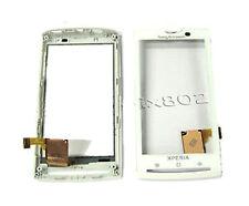 Sony Ericsson Xperia X10 X10i Front Touch Screen Digitizer Frame Bezel White UK