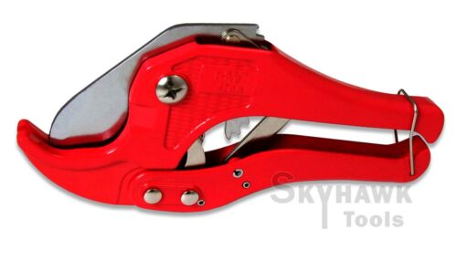 """Ratcheting PVC//PEX Pipe//Tube//Hose Cutter up to 1-5//8/"""" 42mm"""