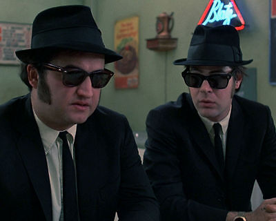 BLUES BROTHERS JOHN BELUSHI DAN AYKROYD 1980 MOVIE 8X10 COLOR PHOTO