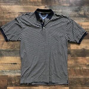 241cac3465 Tommy Hilfiger Golf Shirt Flag Logo Color Block Polo Shirt Mens Size ...