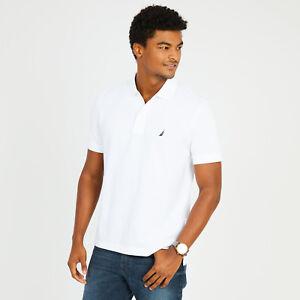 New-NWT-Mens-Nautica-Polo-Pique-Shirt-Classic-Fit-Small-Medium-Large-XL-2XL