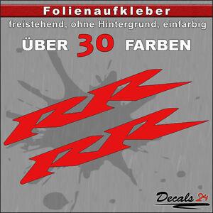 2er-SET-RR-Sponsoren-Folienaufkleber-Auto-Motorrad-30-Farben-10cm
