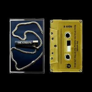 SIGNED - The Streets: None Of Us Are Getting Out... Mixtape - Gold Cassette