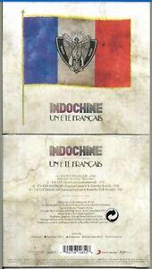 CD-SINGLE-DIGIPACK-4-TITRES-INDOCHINE-UN-ETE-FRANCAIS-2018-NEUF-SCELLE