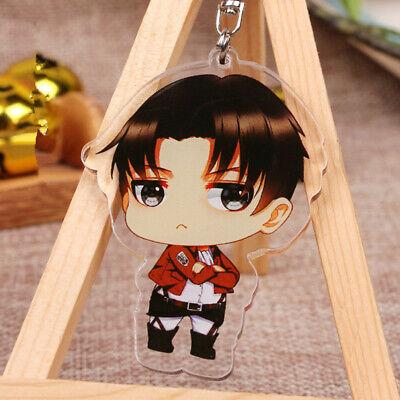 New Anime Attack on Titan Mikasa·Ackerman Acrylic Key Ring Pendant Keychain Gift