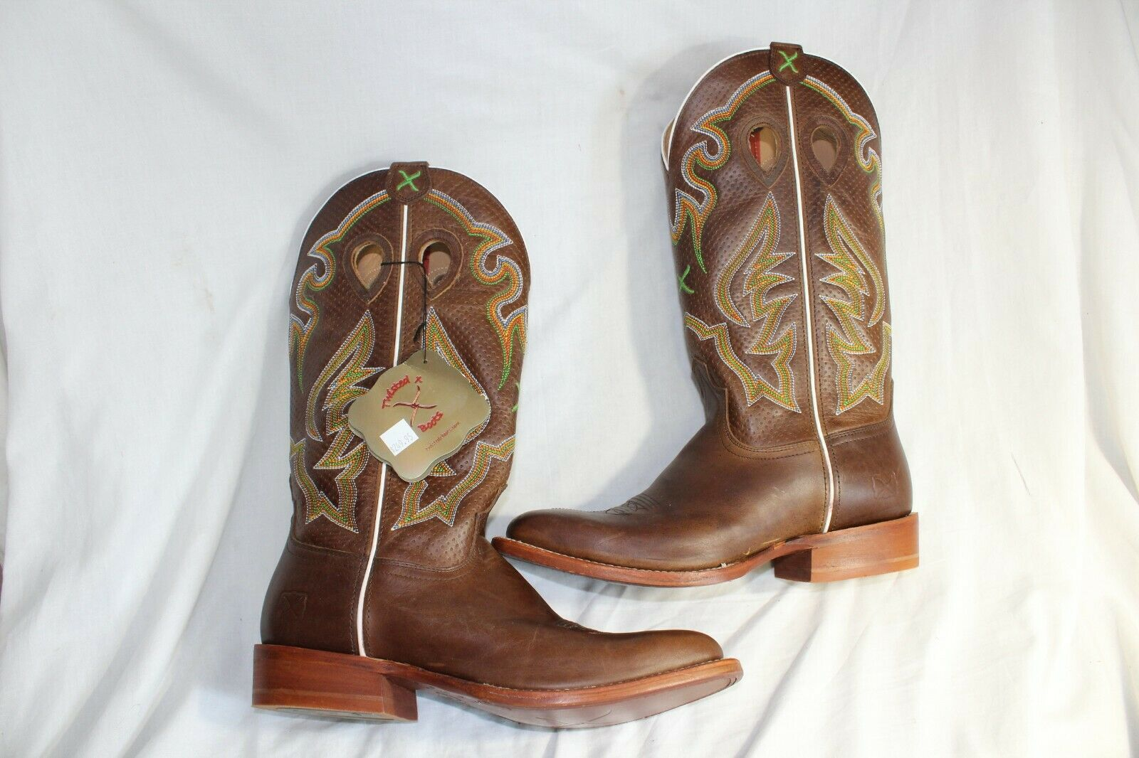 Twisted X Square toe Cowboy boots NEW